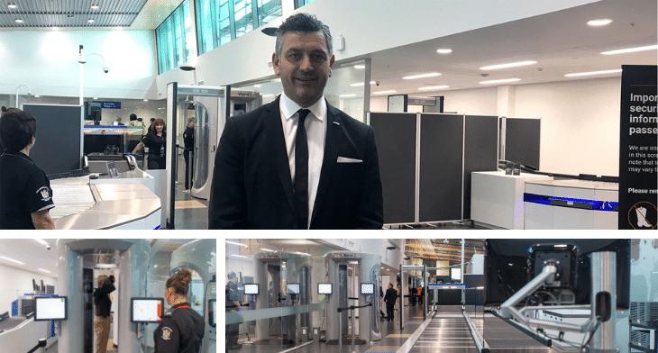 Dunedin Airport security scanners