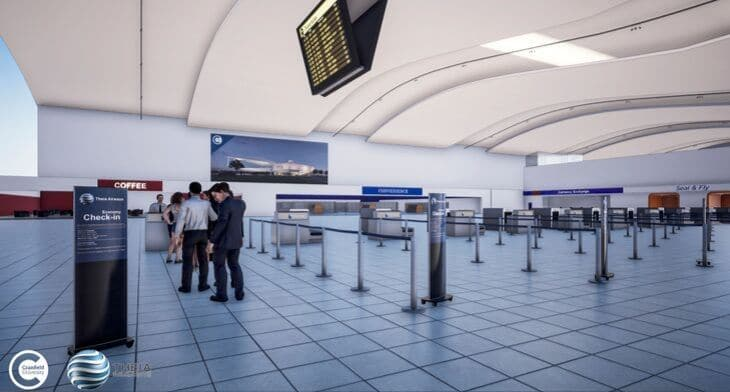 Virtual airport to benefit passengers with ad..