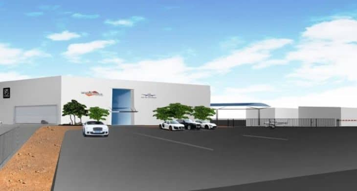 Hangar complex project progressing at Henderson Executive Airport