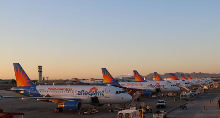 Allegiant Air announce new base in Concord