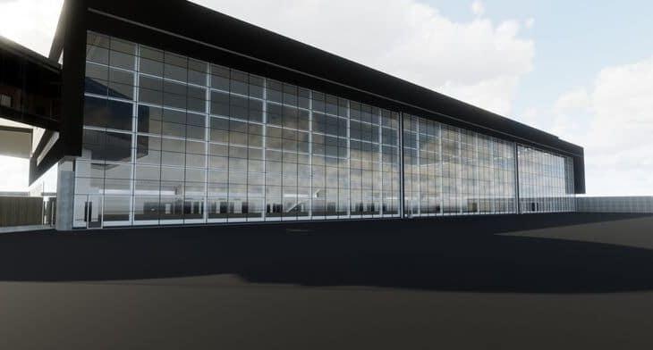 Billund's state-of-the-art hangar design