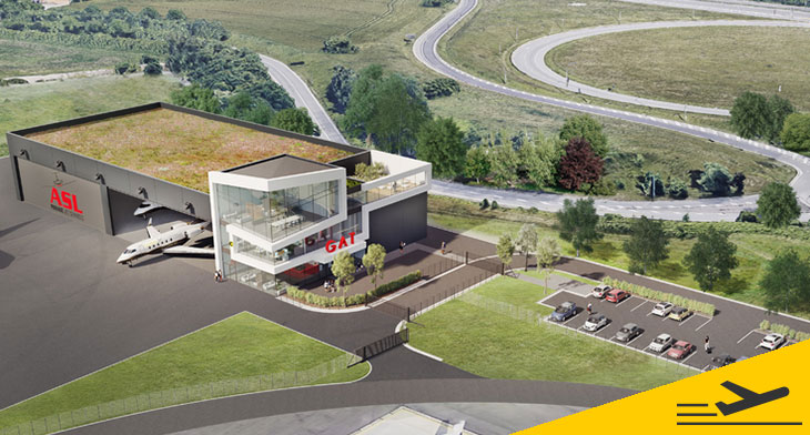 Liege Airport signs contract for business avi..