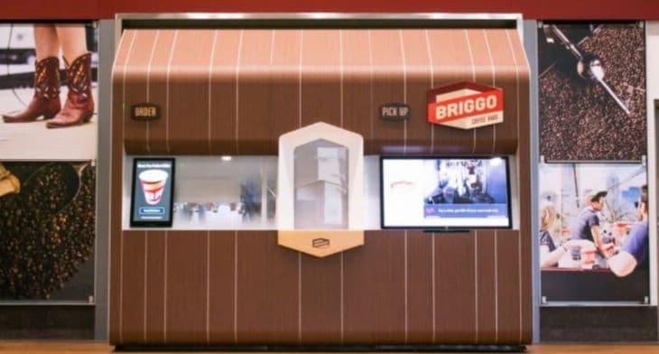 SSP partners with Briggo for coffee kiosks