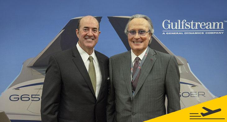 Gulfstream Aerospace Corp. selects Farnboroug..