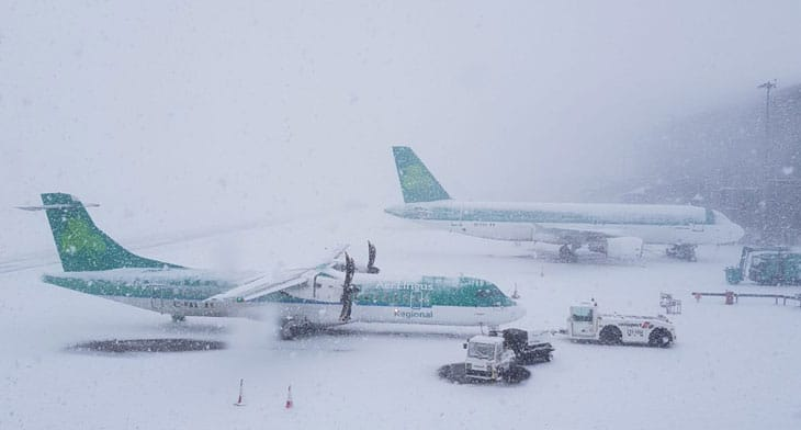 UK and Irish airports persevere with flight o..