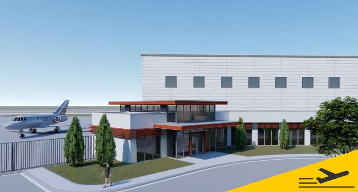 Construction begins on San Antonio hangar dev..