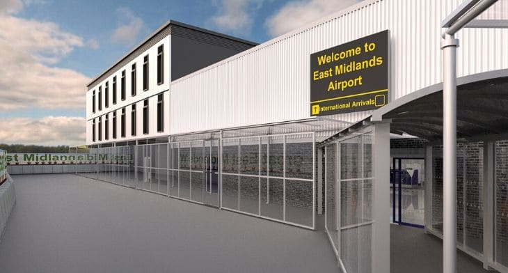 East Midlands Airport starts work on expansion project