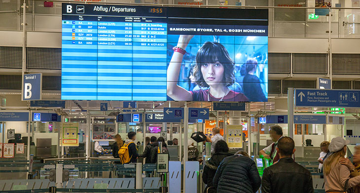 Four German airports launch new advertising network