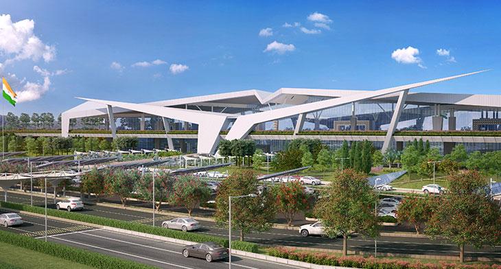 Guwahati Airport new terminal construction un..
