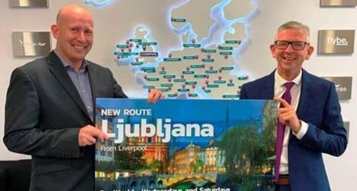 Ljubljana gains link with Liverpool John Lennon