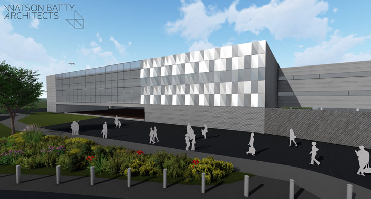 Leeds Bradford Airport terminal extension plans approved