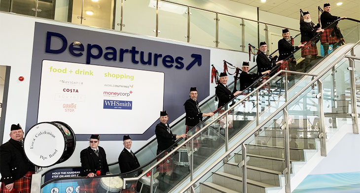 London Southend strengthens links with Scotland