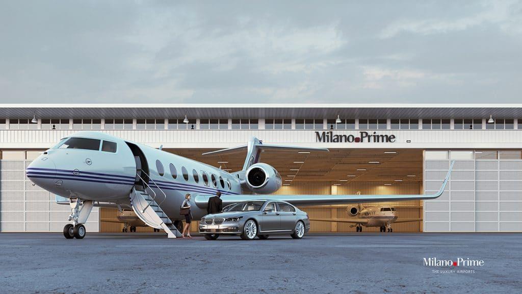 Malpensa Prime hangar