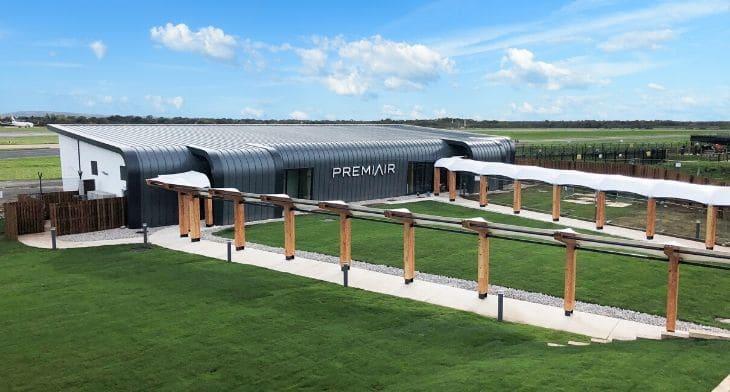 Manchester Airport showcases PremiAir terminal