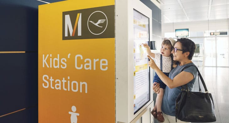 Munich Airport enhances service for families travelling with children