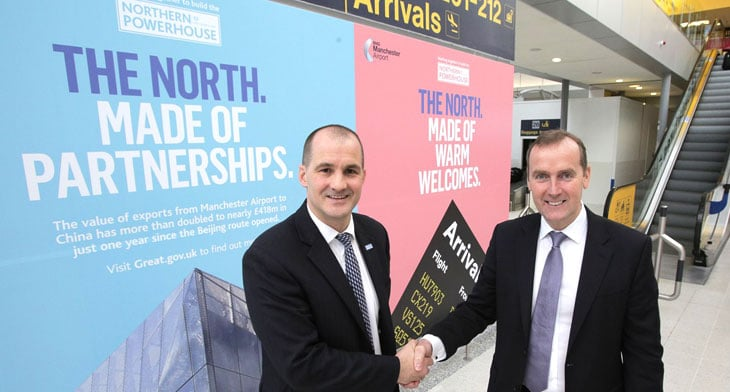 Manchester Airport launches campaign to boost profile of North