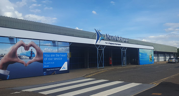 Norwich Airport gains new routes for summer 2020