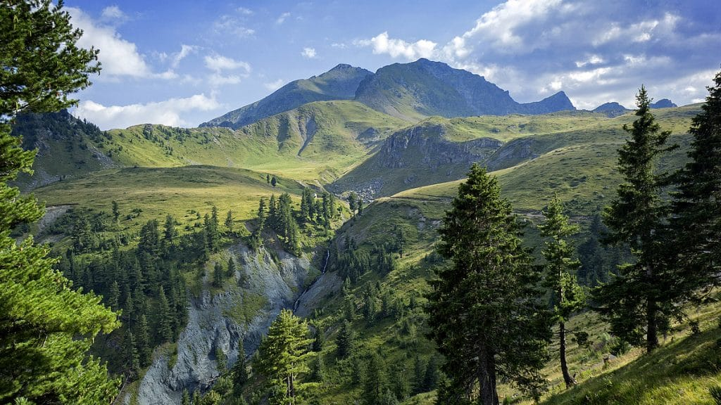 Gjeravica, the highest mountain of Kosovo