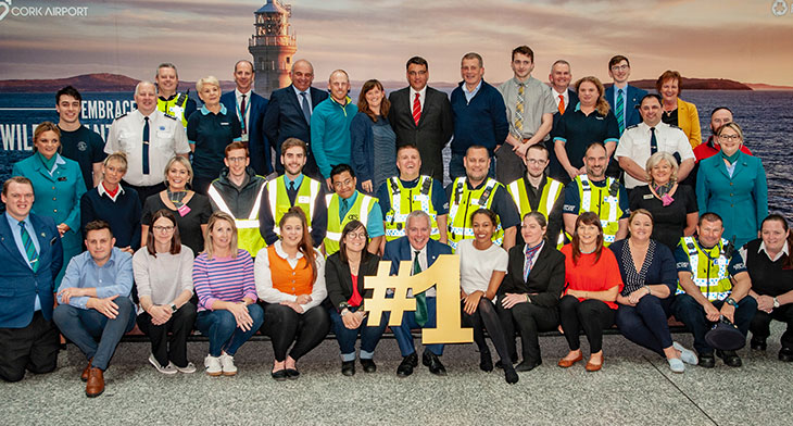 Cork Airport flies high with Best Airport win