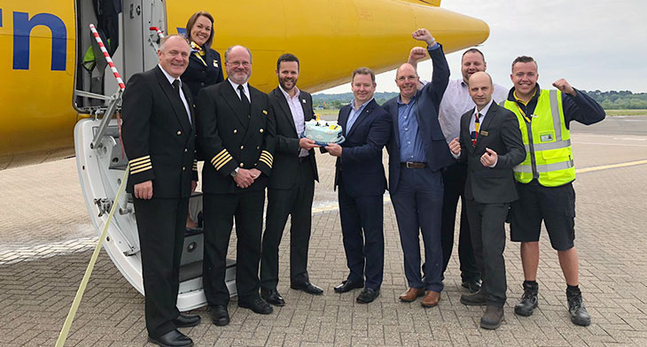 Guernsey welcomes new route to Southampton
