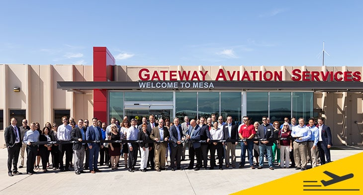 Phoenix-Mesa Gateway Airport re-opens renovated FBO facility