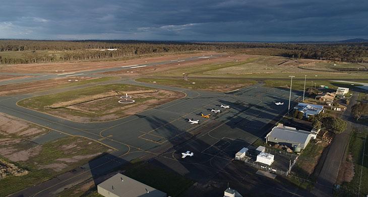Bendigo Airport to gain links with Sydney