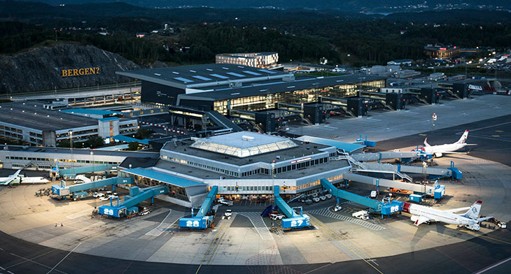 Bergen Airport implements BlipTrack to improve wait times