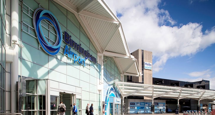 Birmingham Airport sets target to become net zero by 2033