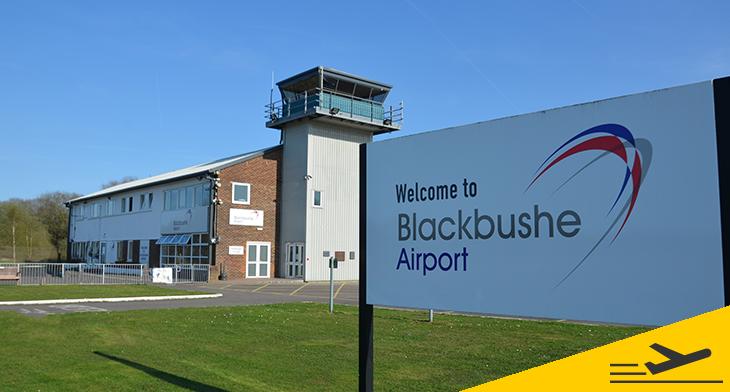 Reduced landing fees at Blackbushe Airport