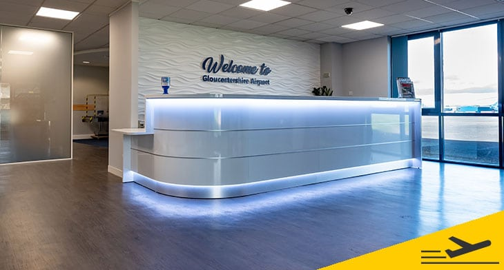 Gloucestershire Airport gets a contemporary m..