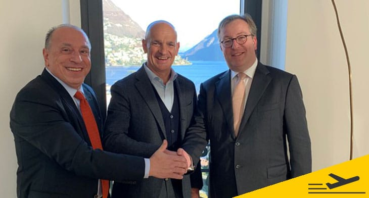 Lugano Airport in co-operation deals with Luxaviation and ExecuJet