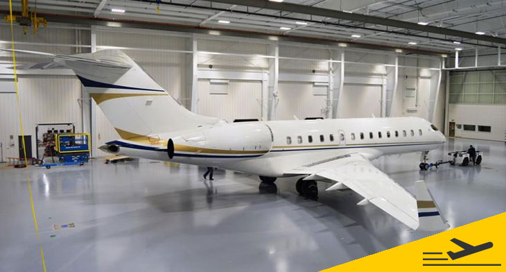 Duncan Aviation-Provo welcomes Bombardier Global Express XRS