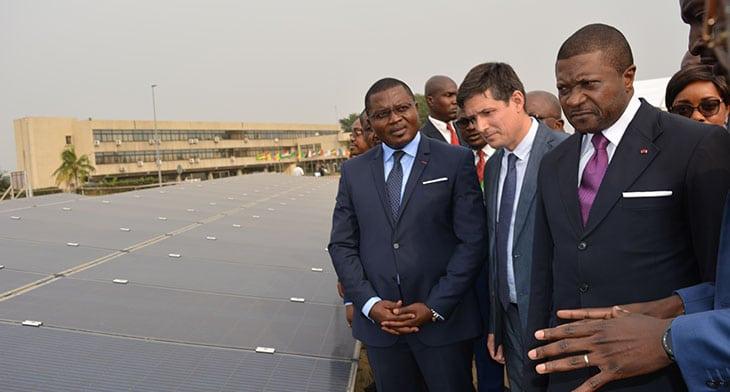 Douala's airport unveils new solar scheme