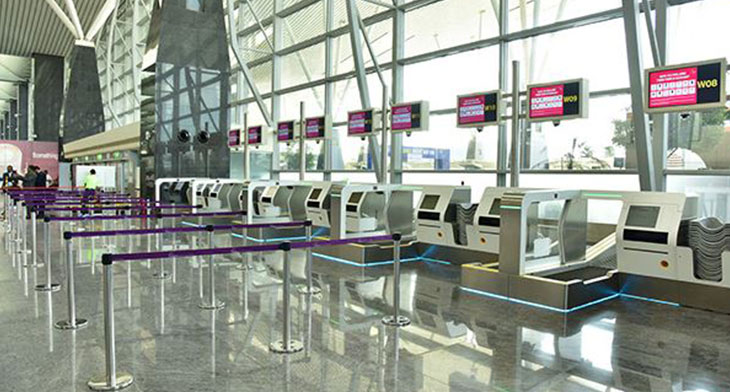First airport in India to implement fully aut..