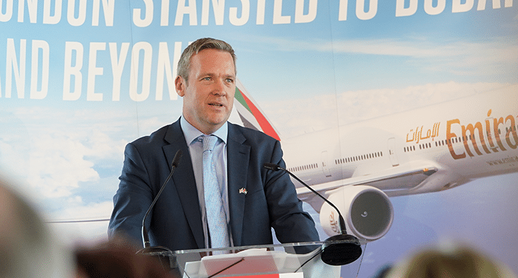Stansted Airport delivers economic prosperity to UK capital