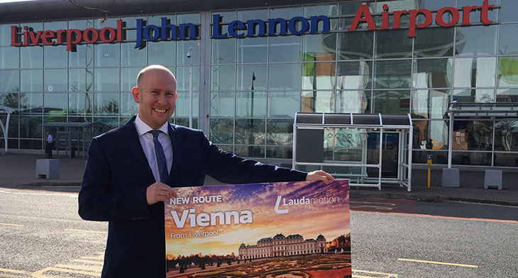 Vienna welcomes low-cost link with Liverpool