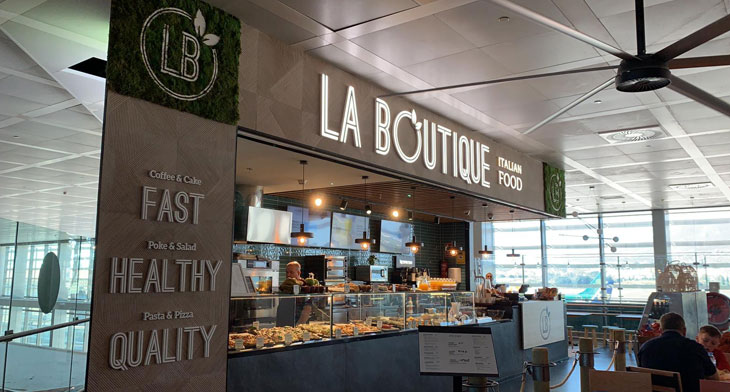 Malaga Airport welcomes new food and beverage units