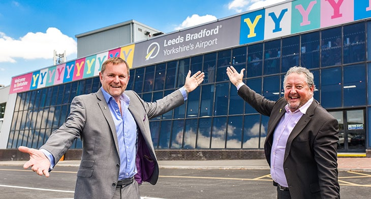 Leeds Bradford's redevelopment under way