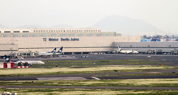 Mexico City's three-airport system poses a challenge
