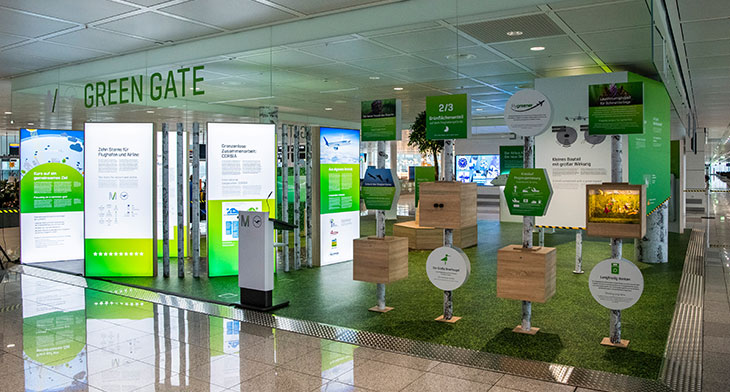 Munich Airport displays commitment to a green..