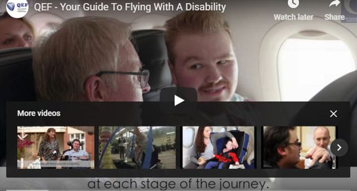 New video assists passengers with reduced mobility