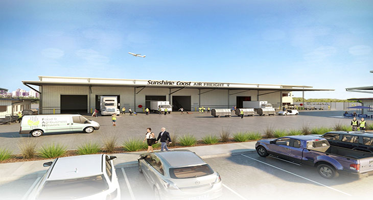 Sunshine Coast Airport hopes to boost food ex..