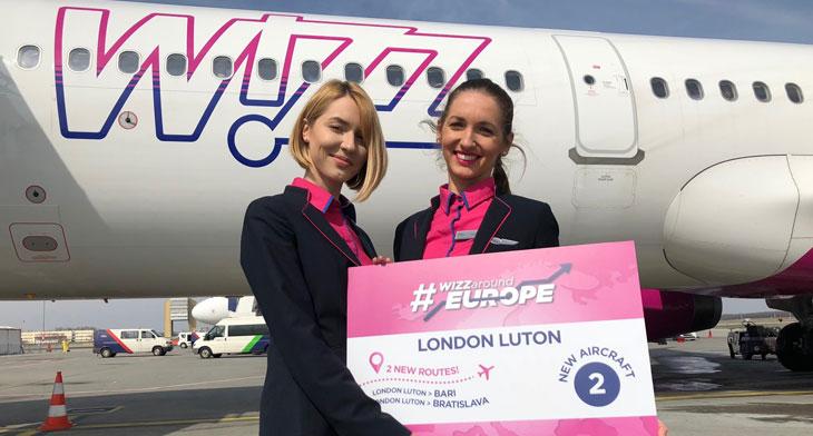 Wizz Air expands London Luton fleet