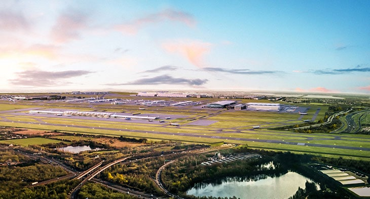 Heathrow's third runway cleared for take of..