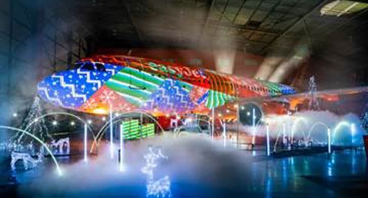 Luton Airport puts the festive spotlight on e..