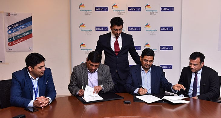 Bengaluru Airport and IndiGo agree MRO deal
