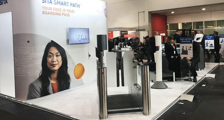 PTE 2019: Athens airport trials SITA's biometric identity solution at security