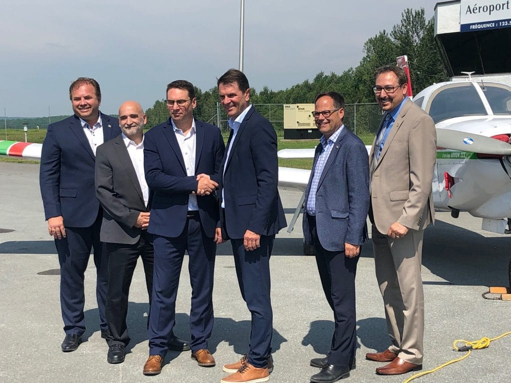Quebec launches regional air services programme in announcement at Sherbrooke Airport