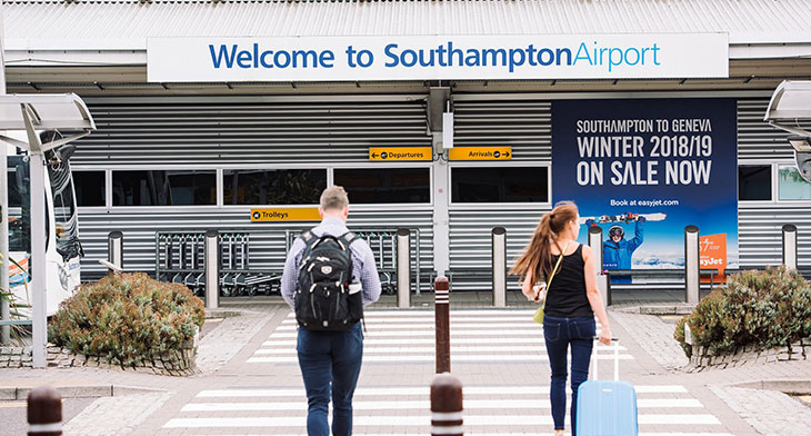 Southampton Airport gains health and safety five star rating