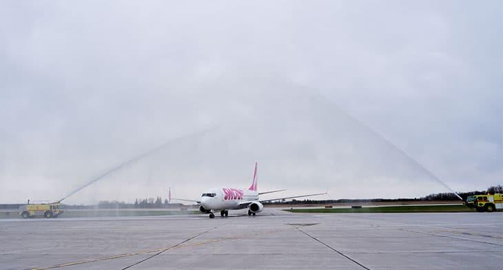 London International Airport celebrates launc..